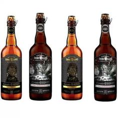 """""""Iron Throne"""" and """"Take the Black Stout"""",  by Brewery Ommegang: Game of Thrones beers"""