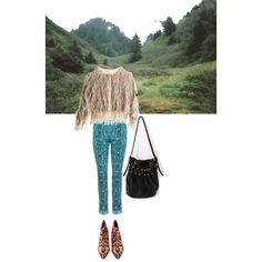 The middle of nowhere by ashbar on Polyvore featuring Roberto Cavalli and Rodarte