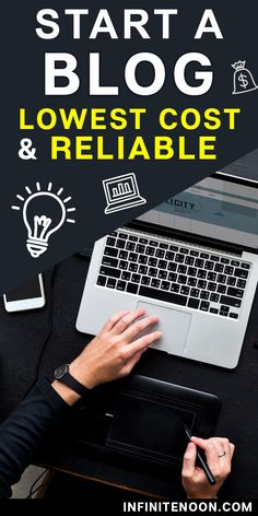 how to start a blog the cheapest most reliable way possible