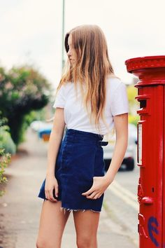 Zara Top, Asos Shorts