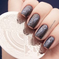 you should stay updated with latest nail art designs nail colors acrylic nails coffin nails almond nails stiletto nails short nails long nails and try different nail desi. Nail Designs Spring, Nail Art Designs, Nails Design, Design Art, Nagel Stamping, Latest Nail Art, Nail Stamping Plates, Nail Decorations, Almond Nails