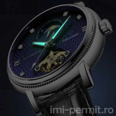 Ceas automatic cu limbi fosforescente marca Tevise Business Fashion, Business Casual, Business Style, Watch 24, Men Watch, Mechanical Watch, Goods And Service Tax, Watches Online, Republic Of The Congo