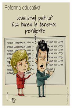 Reforma educativa, ¿voluntad política? - Leonardo Parra