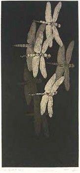 Japanese Art by the artist Shinji Ando (Fragment of the Sky 2006)