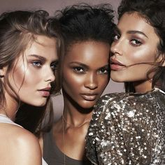 Gorgeous glowing makeup for different skin tones