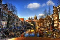 Amsterdam, the architecture, the culture, the poppy fields, the bike riding!! Yeaaah!