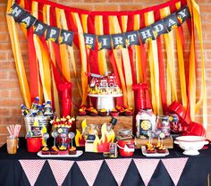 Fire Truck / Firefighter Birthday Party Ideas | Photo 4 of 16 | Catch My Party
