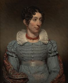 Charles Howard Hodges, Portret van Alida Gerbade (1821) Collectie Museum De Lakenhal