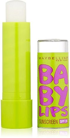 Maybelline Baby Lips Moisturizing Lip Balm SPF 20, Peppermint 0.15 oz (Pack of 2) -- Additional info @