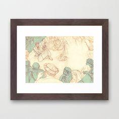 Learn From Me Framed Art Print
