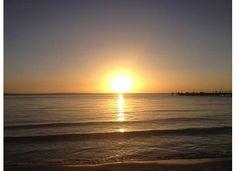 Sunset Fraser Island