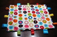 Taggie blanket to #make for #baby