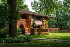Arthur B. Heurtley House - Frank Lloyd Wright