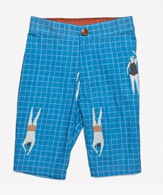 Swimmers print shorts