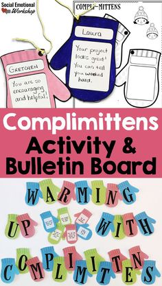 This winter themed activity helps elementary school students practice giving compliments. Student work to generate compliments for their classmates. Teachers or counselors can model the types of compliments you could give someone. This is a great activity to use in classrooms focusing on kindness, community building, and overall social and emotional skills. It can be used by counselors, psychologists, or classroom teachers. Great for populations that need further support with social skills.