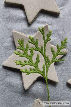 Décorations en argile pour sapins de Noël | Ciloubidouille