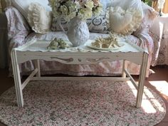 Shabby Cottage Coffee TableShabby Elegant Ornate by Fannypippin