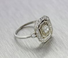 Hey, I found this really awesome Etsy listing at https://www.etsy.com/listing/215845355/antique-art-deco-platinum-75ctw-diamond