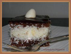 Mamka varí ♥ : KOKOSOVÉ KOCKY Russian Recipes, Tiramisu, Pudding, Homeland, Ethnic Recipes, Desserts, Polish, Food, Basket