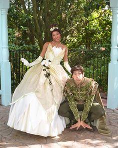 Princess Tiana and Neveen