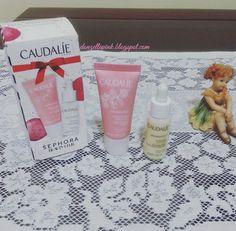 Presente de aniversário Sephora Beauty Club Caudalíe - miniaturas do Creme Hidratante Sorbet Vinosource e do Sérum Luminosidade Antimanchas Vinoperfect