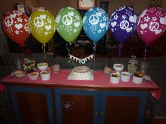 My daughter's 10th Peace party