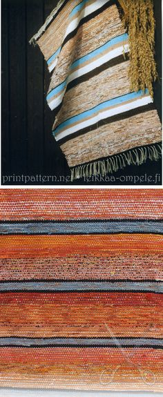 Carpet from recycled material