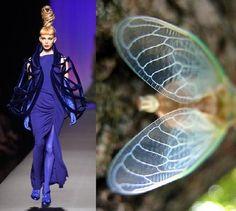 Jean Paul Gaultier's Giant Cicadas ~ Trend de la Creme - Trends in fashion, style, beauty, design, and popular culture.