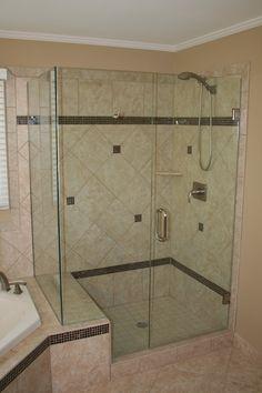 Frameless Shower Doors   Tim's Glass - Novi, Michigan