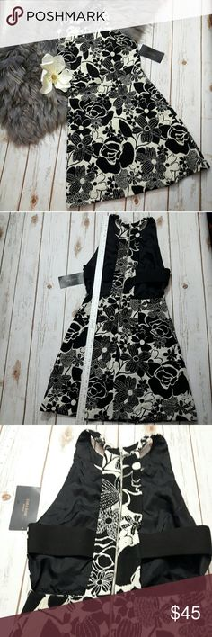 """Zara  Floral JACQUARD DRESS backless ♡ Perfect for the night life!  ♡Length: ~33"""" ♡ Sleeves:~23.5"""" ♡underarm to underarm: ~14.5""""  ♡no stain, tear, or rips. ♡Due to studio lighting, product be may lighter or darker in pictures.#8 Zara Dresses Backless"""