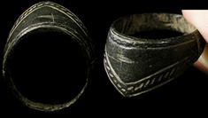 Ancient Relic: Medieval Archers Ring. Worn on right thumb to relieve stress.