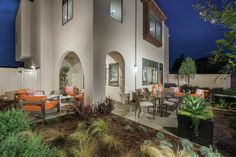 Privatized yards and other outdoor spaces are a hit with buyers. Outdoor Spaces, Outdoor Living, Outdoor Decor, New Community, Backyard, Patio, Modern Architecture, Living Spaces, Home And Family