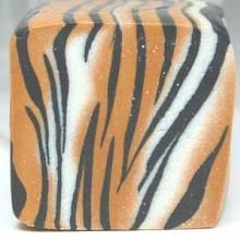 Tiger Print Polymer Clay Cane clay lessons