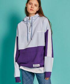 써치410(SEARCH410) UNISEX ANORAK HOODY _ SKY BLUE - VIOLET - 69,000원   우신사 스토어 Trendy Hoodies, Cool Hoodies, Zara Kids, Mens Capri Pants, Sport Fashion, Girl Fashion, Hoodie Outfit, Sweater Shirt, Mens Sweatshirts