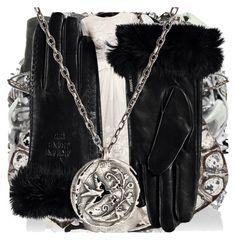 """The Vampire Diaries: Anastasia"" by grandmasfood ❤ liked on Polyvore featuring Warehouse, Steve Madden, Loro Piana, Fantasy Jewelry Box, Dents, Elyse Jacob, Iosselliani, Børn, Eliza J and Mulberry"
