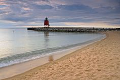 Charlevoix, Michigan, I've walked this beach so many times, I can still recall the sand on my feet
