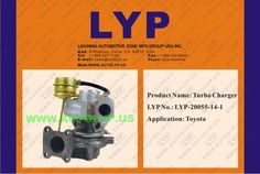 LYP-20055-14-1TURBO CHARGERCOMPRESORREPLACEMENT FOR TOYOTA