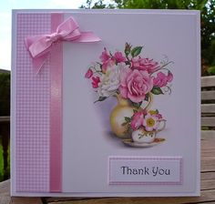 Hello Everyone, Its been another hectic week so far, but at least the kids are on holiday so we. Girl Birthday, Birthday Cards, Art Pad, Floral Theme, Pretty Cards, Hello Everyone, Making Ideas, Thank You Cards, Really Cool Stuff