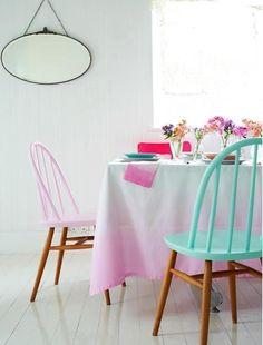 Toalha de mesa degradê