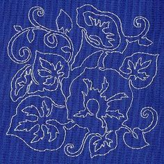 sashiko patterns free download | Embroidery Library - Machine Embroidery Designs Inspired Project Page
