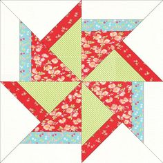 free Flying Kite Block - Paper Piecing | Craftsy