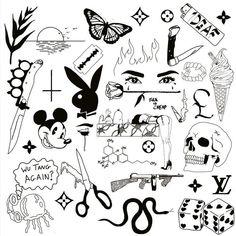 Playboy Bunny – Tattoo Ideas – # Playboy Bunny … – Graffiti World Kritzelei Tattoo, Doodle Tattoo, Poke Tattoo, Doodle Art, Tattoo Fonts, Tattoo Quotes, Playboy Bunny Tattoo, Bunny Tattoos, Mini Tattoos