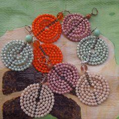 """""""Circle Line"""" Casual Ohrringe. Eine kleine Auswahl aus dem Farbspektrum Crochet Earrings, Jewelry, Ear Piercings, Colors, Jewlery, Jewerly, Schmuck, Jewels, Jewelery"""