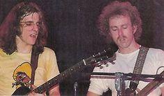 Glenn Frey and Bernie Leadon