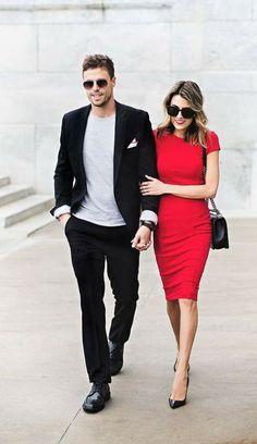 b1667f486 Ideas de outfits super fashion en pareja - Curso de Organizacion del hogar  y Decoracion de Interiores