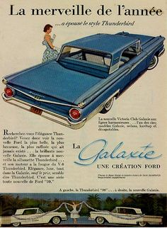 1959 Canadian Ford Galaxie...somehow it looks and sounds better in French...!