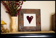 I want to do this with the flowers Caleb gave me when he proposed. So cute and I think it would mean a lot to him if I displayed it :)