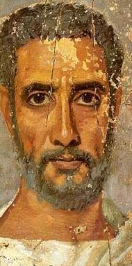 Encaustic funeral portrait of a man, Egypto-Roman Rome Antique, Art Antique, Egyptian Mummies, Egyptian Art, Ancient Rome, Ancient Art, Art Romain, Egypt Mummy, L'art Du Portrait