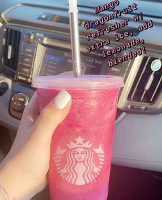 Starbucks Hacks, Starbucks Secret Menu Drinks, Starbucks Coffee, Starbucks Order, Bebidas Do Starbucks, Healthy Starbucks Drinks, Smoothie Drinks, Fondue Recipes, Coffee Recipes