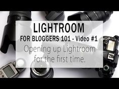 Lightroom for Bloggers 101 - Video #1 - Opening up Lightroom for the first time | Blog Chicka Blog